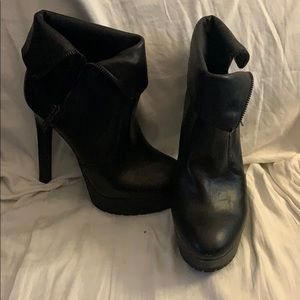BCBG High Heeled Booties